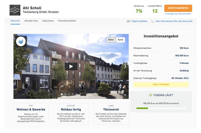Zinsland-Projekt Ahl Scholl (Stand: Juli 2016)