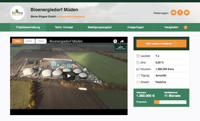 Bioenergiedorf Müden (LeihDeinerUmweltGeld)