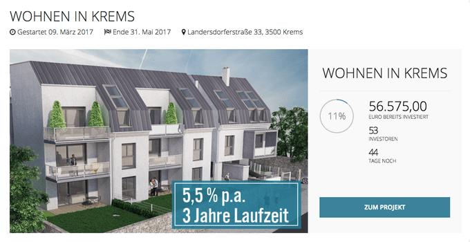 Wohnen in Krems (Reval)