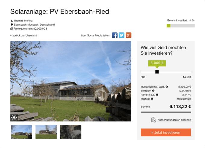 PV Ebersbach-Ried (greenXmoney)