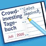 Crowdfunding-Tagebuch mit Echtgeld-Test - Juli 2016