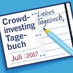 Crowdinvesting-Tagebuch Juli 2017