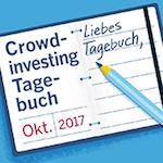Crowdinvesting-Tagebuch Oktober 2017