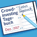 Crowdinvesting-Tagebuch Dezember 2017