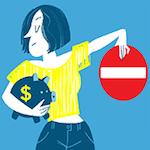 Finanzbloggerin Natascha von Madame Moneypenny schreibt in diesem Artikel über fünf Geldfehler, die Frauen häufig begehen.