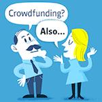 Anne Maier, Inhaberin der Seite Crowdfunding-Anleger.de unterhält sich in einem fiktiven Dialog mit dem konservativen Anleger Peter Sparfuchs.