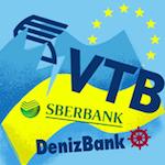 Sicherheit russischer Banken (VTB, DenizBank, Sberbank)
