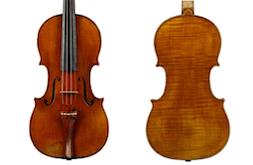Violine von Pierre Pacherel