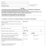 Ansässigkeitsbescheinigung zur Reduktion der Quellensteuerbelastung (Beispiel-Seite)